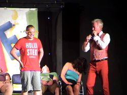 Ray-bans with Xtras In a hypnosis show