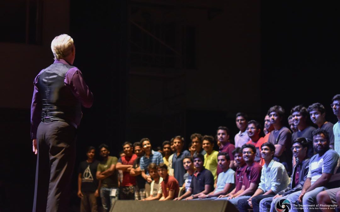 2018 Bits Pilani Goa India – Quark 18 Lectures and Hypnosis Show