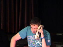 Its Telesales isnt it! In a hypnosis show