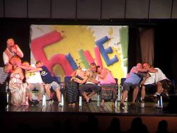 Close the Flippin door In a hypnosis show