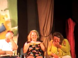 OK so I drank some GIGGLES! In a hypnosis show