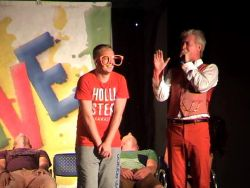 Ooops my clothes. In a hypnosis show