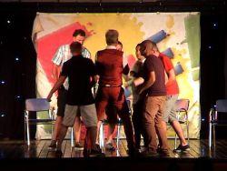 Bonds meet hypno dude In a hypnosis show